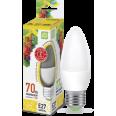 Лампа LED-СВЕЧА-standard 7.5Вт 160-260В Е27 3000К 600Лм ASD