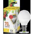 Лампа LED-ШАР-standard 7.5Вт 160-260В Е14 3000К 600Лм ASD
