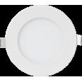 Панель светодиодная круглая RLP-eco 0841 8W 160-260В 4000К 640Лм 120/105мм белая ASD