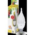 Лампа светодиодная LED-СВЕЧА на ветру-standard 5 W/3000К160-260В Е14 400Лм ASD