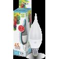 Лампа светодиодная LED-СВЕЧА на ветру-standard 5 W/4000К160-260В Е14 400Лм ASD