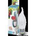 Лампа светодиодная LED-СВЕЧА на ветру-standard 5 W/4000К160-260В Е27 400Лм ASD