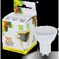 Лампа светодиодная LED-JCDRC-standart 3W 160-260В GU10 3000К 270Лм ASD