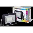 Прожектор светодиодный СДО-5Д-20 20Вт 220В 6500К 1500Лм с датчиком движения IP65 LLT