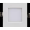 Панель светодиодная квадратная SLP-eco 3Вт 220В 4000К 210Лм 86х86х23мм белая IP40