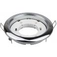 Светильник встраиваемый GX53R-mini ультратонкий металл под лампу GX53 220В хром IN HOME