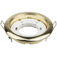 Светильник встраиваемый GX53R-mini ультратонкий металл под лампу GX53 220В золото IN HOME