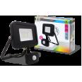 Прожектор светодиодный СДО-5ДВР-30 30Вт 220В 6500К 2400Лм с внешним датчиком движения IP44 LLT