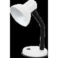 Светильник настольный под лампу СНО-02Б на основании 60Вт E27 БЕЛЫЙ (мягкая упак.) IN HOME