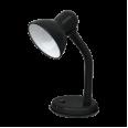 Светильник настольный под лампу СНО-02Ч на основании 60Вт E27 ЧЕРНЫЙ (мягкая упак.) IN HOME