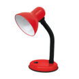 Светильник настольный под лампу СНО-02К на основании 60Вт E27 КРАСНЫЙ (мягкая упак.) IN HOME