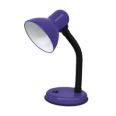 Светильник настольный под лампу СНО-02Ф на основании 60Вт E27 ФИОЛЕТОВЫЙ (мягкая упак.) IN HOME