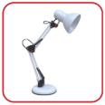 Светильник настольный под лампу СНО-15Б на основании 60Вт E27 БЕЛЫЙ (коробка) IN HOME