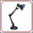 Светильник настольный под лампу СНО-15Ч на основании 60Вт E27 ЧЕРНЫЙ (коробка) IN HOME