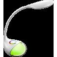 Светильник настольный светодиодный ССО-01Б 8Вт сенсор-диммер RGB-ночник адаптер БЕЛЫЙ IN HOME
