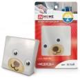 Ночник светодиодный NL04-BW Медведь 230В белый IN HOME