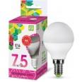 Лампа светодиодная LED-ШАР-standard 7.5Вт 230В Е14 6500К 675Лм ASD