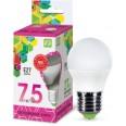 Лампа светодиодная LED-ШАР-standard 7.5Вт 230В Е27 6500К 675Лм ASD