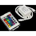 Контроллер LS-CA-6 6А 12В 16 статических 4 динамических канала со шнуром IN HOME