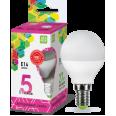 Лампа светодиодная LED-ШАР-standard 5Вт 230В Е14 6500К 450Лм ASD
