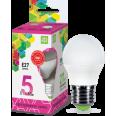Лампа светодиодная LED-ШАР-standard 5Вт 230В Е27 6500К 450Лм ASD
