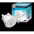Датчик движения инфракрасный ДД-007-W 800Вт 360 гр.6м IP44 белый LLT