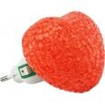 Ночник светодиодный NLA 10-HR СЕРДЦЕ красное с выключателем 230В IN HOME