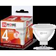 Лампа светодиодная LED-JCDR-VC 4Вт 230В GU5.3 6500К 310Лм IN HOME