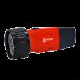 Фонарь ручной аккумуляторный MLA 01-R 5LED 120Lm 6ч 2 режима, з/у 230В КРАСНЫЙ IN HOME