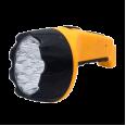 Фонарь ручной аккумуляторный MLA 04 15LED 200Lm 6ч 2 режима, з/у 230В ЧЕРНО-ЖЁЛТЫЙ IN HOME