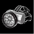 Фонарь налобный аккумуляторный HLA 04M 2W 10LED 200Lm 10ч 2 режима, з/у 230В МЕТАЛЛИК IN HOME