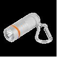 Фонарь-брелок KL 61S LED батарейки в комплекте алюминиевый СЕРЫЙ IN HOME