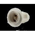 Патрон Е14-ППК пластиковый с прижимным кольцом IN HOME