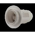 Патрон Е27-ППК пластиковый с прижимным кольцом IN HOME