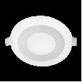 Панель светодиодная круглая встраиваемая RLP-BL 6Вт 230В 4000К 350Лм 105мм с подсветкой белая IP20 IN HOME