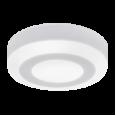 Панель светодиодная круглая накладная NRLP-BL 6Вт 230В 4000К 350Лм 105мм с подсветкой белая IP20 IN HOME