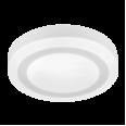 Панель светодиодная круглая накладная NRLP-BL 16Вт 230В 4000К 960Лм 195мм с подсветкой белая IP20 IN HOME