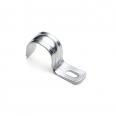 Скоба металлическая однолапковая d 8-9мм. (100шт.) EKF PROxima