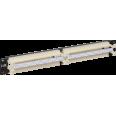 ITK 19` кросс-панель 100-парная, 1U, 110 т. (модули в комплекте)