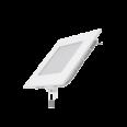 Встраиваемый светильник Gauss ультратонкий квадратный IP20 6W,120х120х22,d105х105, 3000K 360лм 1/20