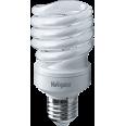Лампа энергосберегающая (КЛЛ интегрированная) «спираль» d55мм E27 25Вт 230В тепло-белая 2700К/827 10000ч Navigator