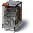 Миниатюрные реле общего назначения Втычные Контакты AgNi 2CO 10A блокируемая кнопка Тест + индикатор