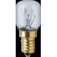 Лампа накаливания трубчатая d25мм E14 15Вт 230В прозрачная белая для холодильников Navigator