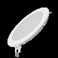 Встраиваемый светильник Gauss ультратонкий круглый IP20 12W,170х22,d155, 3000K 880лм 1/20
