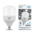 Лампа Gauss Elementary LED T140 E27 50W 4400lm 180-240V 4000K