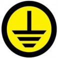 Наклейка `Земля` (d20мм.) EKF PROxima