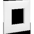 Рамка ARTLEBEDEV, `Avanti`, `Белое облако`, 2 модуля