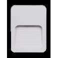 Светильник накладной c опал. рассеив-м cветодиод. (LED) 4x2Вт 100-240В IP44 белый 4000К для архитект. подсветки Jazzway