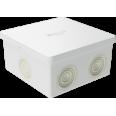 Коробка ответвит. с 6 кабельными вводами д.20мм, IP44, 80х80х40мм