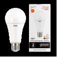 Лампа Gauss LED Elementary A67 25W E27 2000lm 3000K